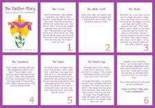 Interactive Easter Story Booklet Printable