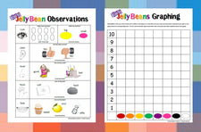 Easter Math - Jelly Bean Observations and Graphing