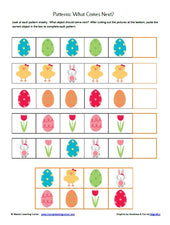 Easter Worksheet Packet from Mama's Learning Corner