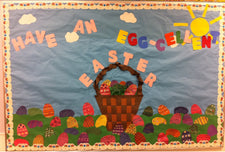 Have An Egg-cellent Easter Bulletin Board Idea