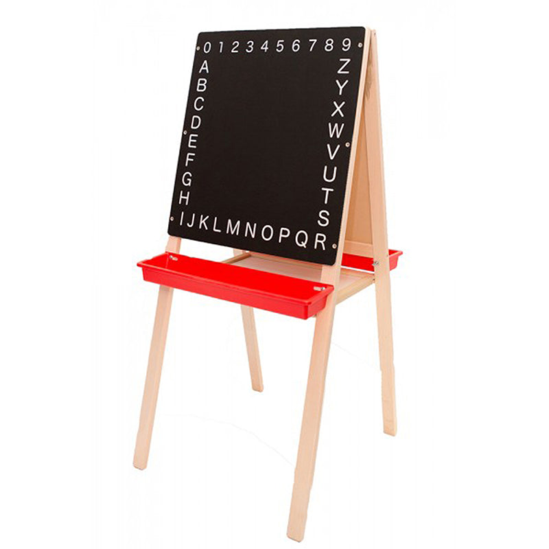 "Child's Magnetic Easel, 44""H x 19""W"
