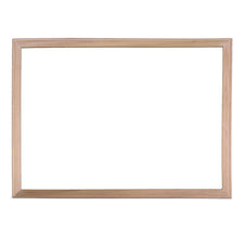 "Wood Framed White Dry Erase Board, 18"" x 24"""