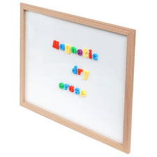 "Wood Framed White Dry Erase Board, 24"" x 36"""
