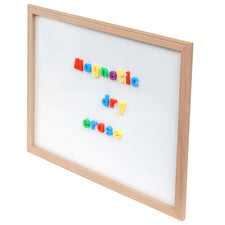 "Wood Framed White Dry Erase Board, 36"" x 48"""