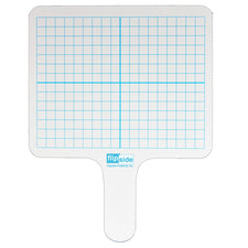 Two-Sided Rectangular Dry Erase Graphing Paddle