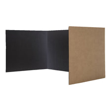 Black Corrugated Privacy Shield, 24 Pack