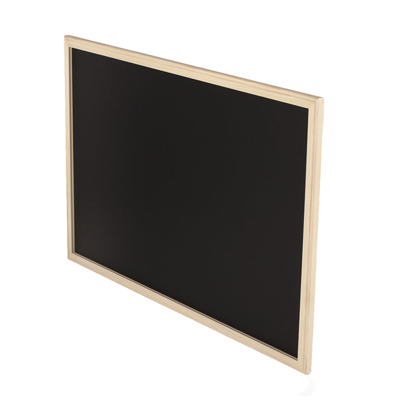"Wood Framed Black Chalkboard, 24"" x 36"""