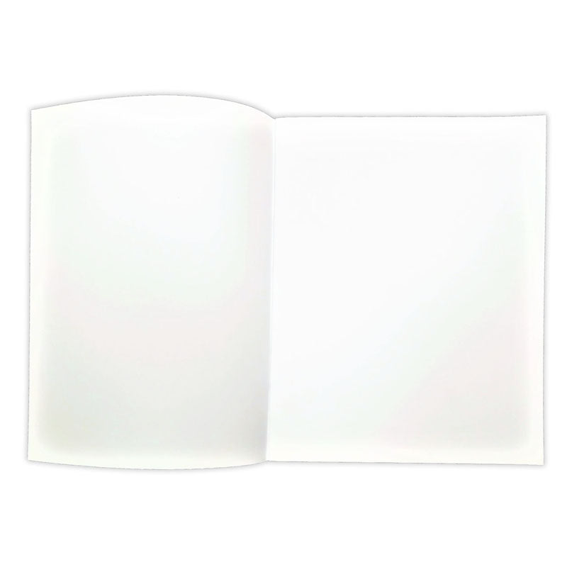 "Soft Cover Blank Book, 7"" x 8.5"" Portrait, 8 Pages (12 Pack)"