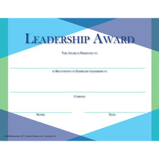 Glass Leadership Award