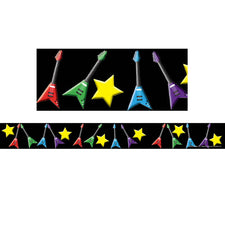 Rock Star Bulletin Board Border