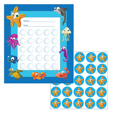 Under the Sea Sticker Chart