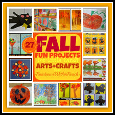 27+ Fall Arts & Crafts Projects for Little Hands!