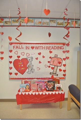 Fall In Love With Reading Valentine S Day Library