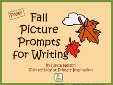 Fall Picture Writing Prompt FREEbies