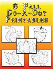 FREE Fall Do-A-Dot Printables!