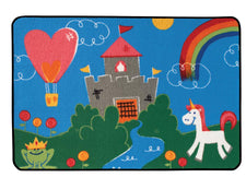 "Fantasy Fun KID$ Value Discount Play Room Rug, 3' x 4'6"" Rectangle"