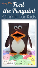 """Feed the Penguin"" Preschool Game for Kids"