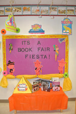 Nacho' Ordinary Books! - Fiesta Book Fair Bulletin Board