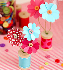 Adorable Valentine's Day Paper Bouquets