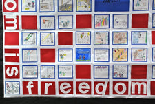 Freedom Is... - Veterans Day Writing Prompt and Wall Mural