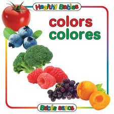 Colors Board Book, Bilingual