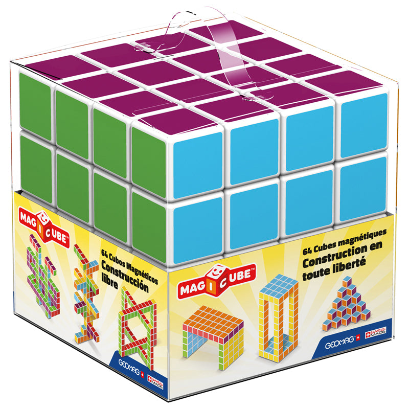 MAGICUBE™ - 64 Piece Free Building Set