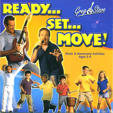 Greg & Steve Ready Set Move CD