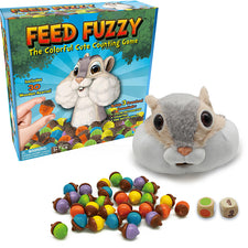 Feed Fuzzy: The Colorful Cute Counting Game
