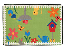 "Garden Time KID$ Value Discount Play Room Rug, 3' x 4'6"" Rectangle"