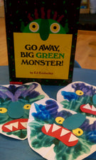 """M"" is for Monster - Crafts for Preschoolers"