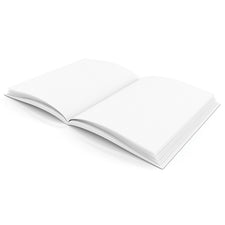 "Hardcover Blank Book, Portrait 8.5"" x 11"""