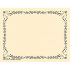Arabesque Black Border Paper