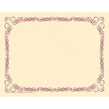 Arabesque Plum Border Paper