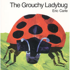 The Grouchy Ladybug Board Book By Eric Carle
