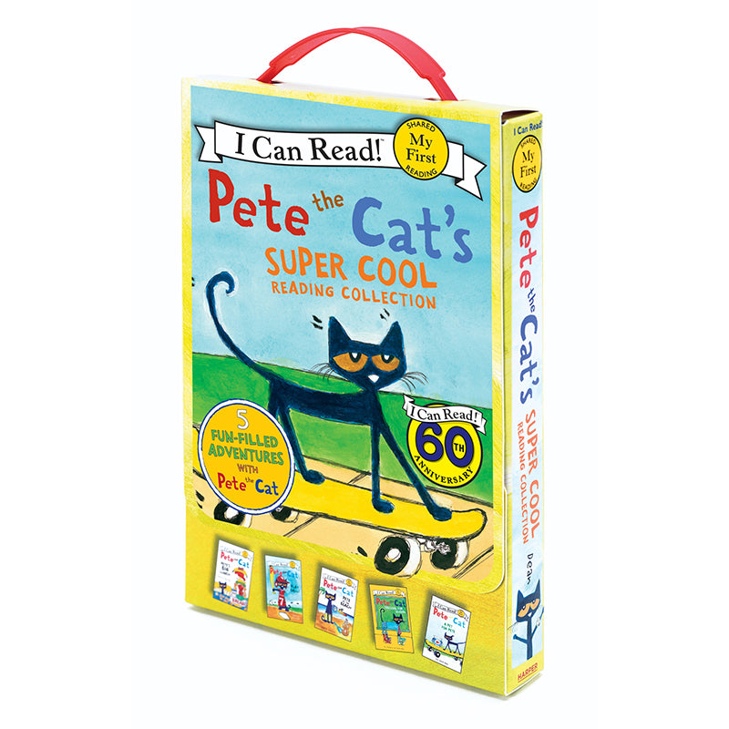 Pete the Cat's Super Cool Reading Collection, 5 Book Set