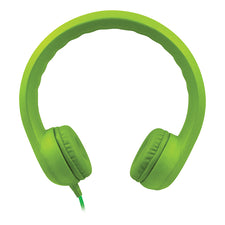 HamiltonBuhl Flex-Phones™ Single Construction Foam Headphones - Green