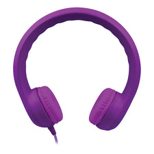 HamiltonBuhl Flex-Phones™ Single Construction Foam Headphones - Purple