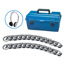 Lab Pack, 24 HA2 Personal Headphones in a Carry Case