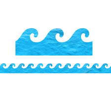 Ocean Waves Die-Cut Bulletin Board Border