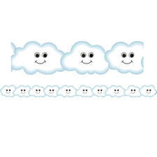 Happy Cloud Die-Cut Bulletin Board Border