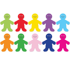 "7"" Rainbow People Accents"