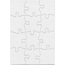 "Compoz-A-Puzzle, 5.5"" x 8"" Rectangle (12 Pieces)"