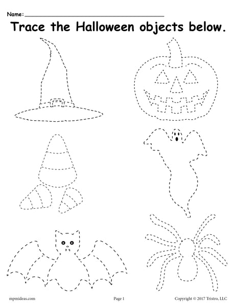 Slobbery image for halloween worksheets free printable