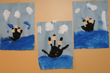 Handprint Boat Crafts for Columbus Day!