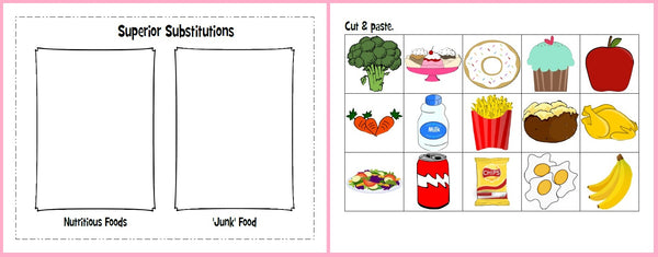 Heart Health Month - Nutritious Foods vs. 'Junk' Food ...