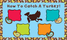 How To Catch A Turkey! - Thanksgiving Activity & Bulletin Board