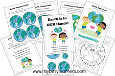 Mini Earth Day Pack from Itsy Bitsy Learners