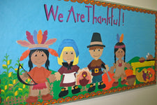 4 Fun Thanksgiving Bulletin Board Ideas & Classroom Door Decorations!