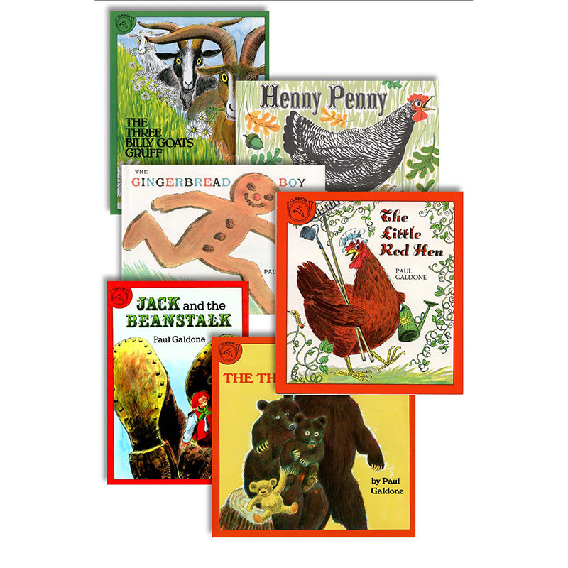 Classic Fairy Tales Set Of All 6 Books Isbn9780618681174
