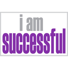 """I Am Successful"" Poster"